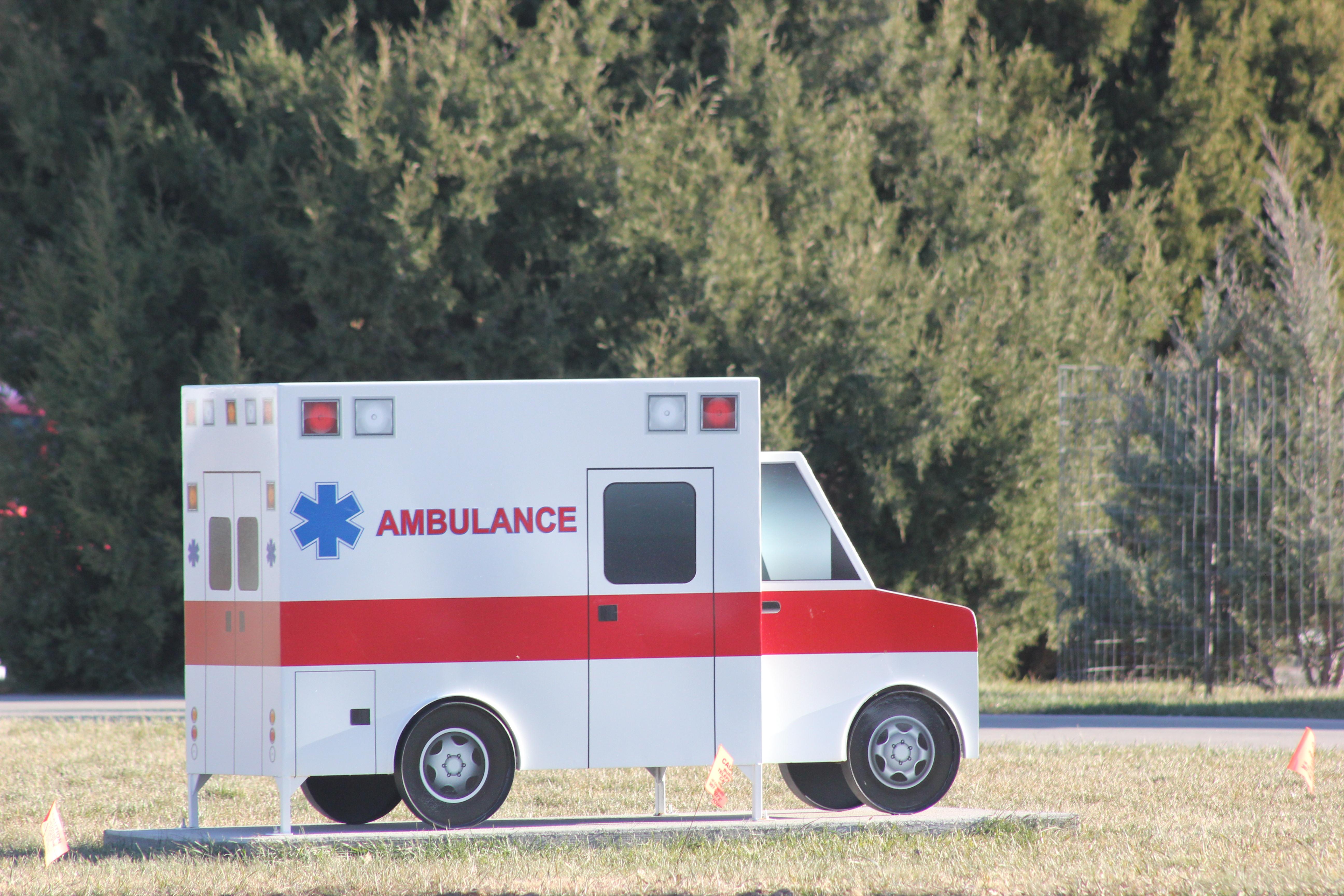 Metal Ambulance